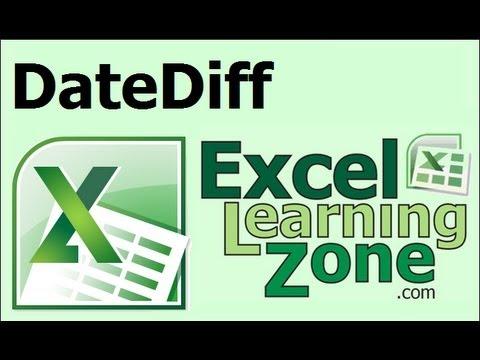 Microsoft Excel İki Tarih Ve Etarihli Fonksiyonu Arasındaki Farkı Hesaplar