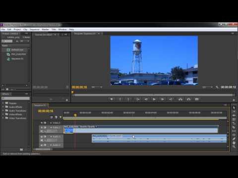 60 İkinci Öğretici Premiere: Video - Hd Ses Bağlantısını Kaldır-