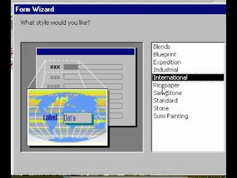Microsoft Office Access 2000 Oluşturmak Otomatikform Kullanarak Formu