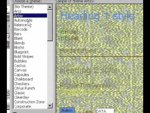 Microsoft Office Access 2000 Uygulama Temaları