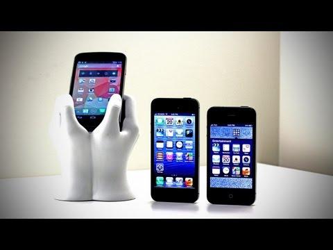 İphone 5 Karşılaştırma (İphone 5 Vs İphone 4 Vs Galaxy Nexus)