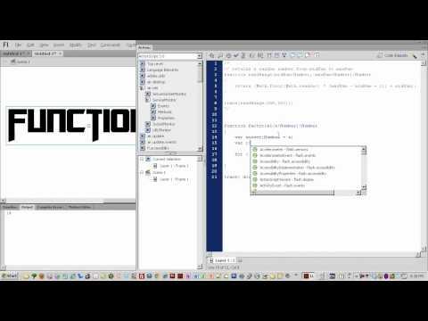 Flash Cs6 Rehberler Yeni Başlayanlar Part 017 - 2 Dönüş Değeri Actionscript 3 İşlevlerini Bölüm