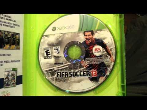 Xbox 360 - Fıfa 13 Unboxing!