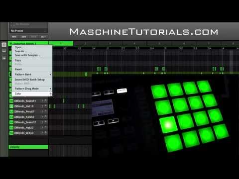 Maschine 1.8 Update - Maschine Mikro Mk2 Renk Yastıkları Gösterilen