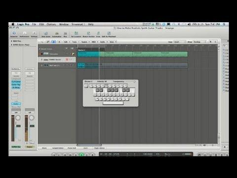 Nasıl Gerçekçi Synth Gitar Parçaları Kaydetmek İçin: Kaydedilmiş Ve Canlı Müzik