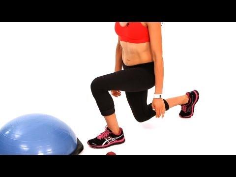 Diz Güçlendirme Egzersizleri Nasıl | Bosu Topu Egzersiz