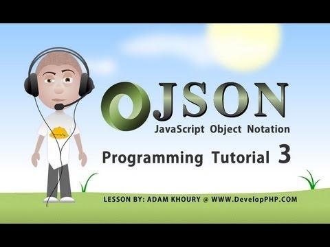 Yeni Başlayanlar İçin Json Ders Bölüm 3 Program Nasıl Php Ajax Javascript