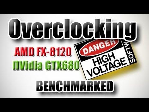 Fx 8120 Ve Gtx680 Oyun İçin Overclock