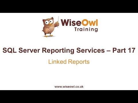 Reporting Services (Ssrs) Bölüm 17 - Bağlantılı Raporlar
