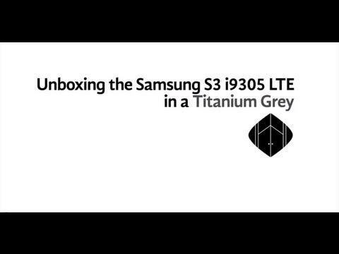 Unboxing - Samsung Galaxy S3 Gt-I9305 - Lte - Dört Çekirdekli - 2Gb Ram