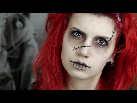 Cadılar Bayramı Makyaj Basit Frankenweenıe İlham