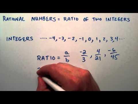 Rasyonel Sayılar, Ara Cebir, 4 Ders