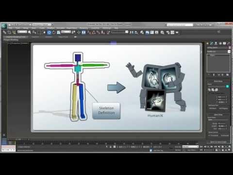 3Ds Max Kedi Teçhizat Humanık Karaktere Dönüştürme