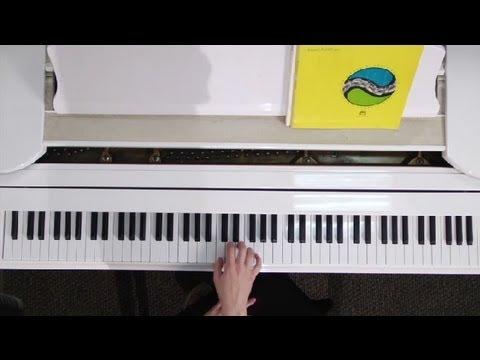 Nerede Benim Elleri Ve Parmakları Piyanonun Üzerinde Koymak: Piyano Dersleri Ve Temelleri