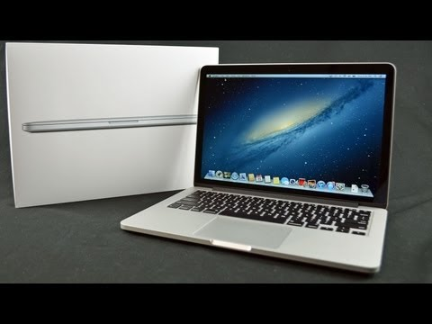 "Apple Macbook Pro 13"" İle Retina Ekran: Unboxing Ve Tur"