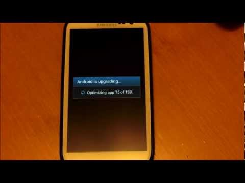 Jöle Fasulye 4.1.1 (Sprınt Galaxy S3) İçin El İle Güncelleştirme