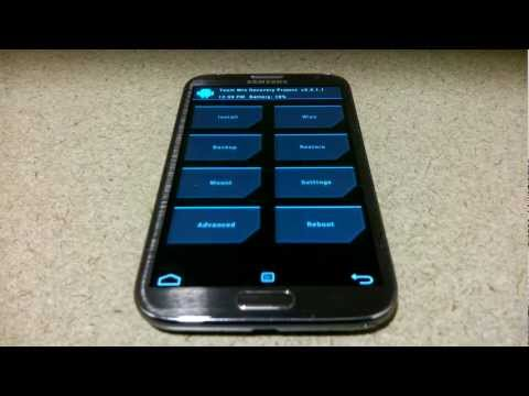 Nasıl 2 Galaxy Not Üzerinde Özel Kurtarma Into To Get / Iı Ve Galaxy S3 / Iıı