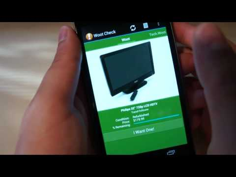 Woot Onay İçin Android İnceleme