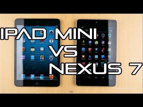 İpad Mini Vs Nexus 7 - Tam Ayrıntılı Karşılaştırma