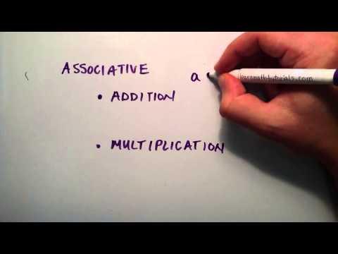Cebirsel Özellikleri 1 (Yer Değiştirebilme Ve İlişkisel), Ara Cebir, Ders 18 Bölüm