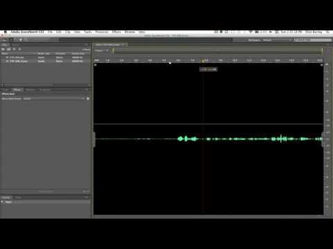 Nasıl Stereo Mono - Adobe Soundbooth Cs5 Eğitimi Dönüştürmek İçin