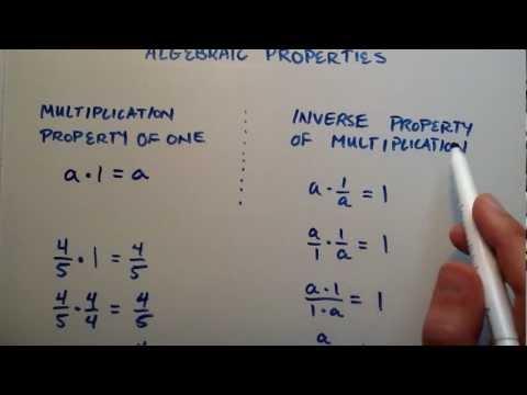 Cebirsel Özellikleri, Bölüm 4, Orta Seviye Cebir, Ders 21