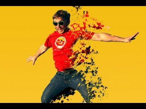 Photoshop Tutorial: Dispersiyon Etkisi Splash Fırçaları İle