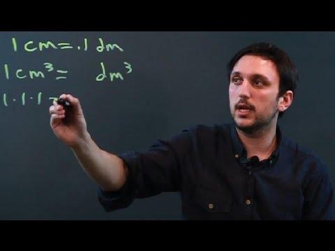 Kaç Küp Decimeters Bir Küp Santimetre Mi? : Metrik Sistem