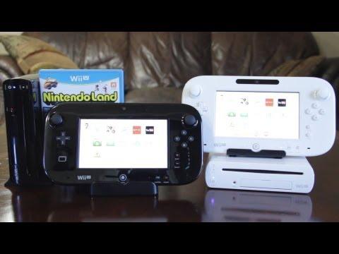 Wii U Deluxe (Siyah) Vs Temel (Beyaz) Set Unboxing Ve Karşılaştırma