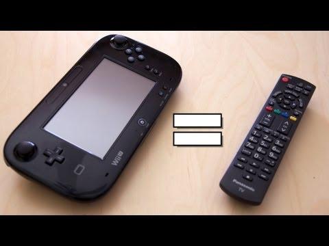 Nasıl Wii U Gamepad Bir Tv Uzaktan Kumanda Açmak İçin! (Demo Ve Arabirim Tur)