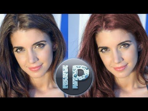 Adobe Photoshop Elements Değişiklik Saç Rengi Öğretici Infopuppet