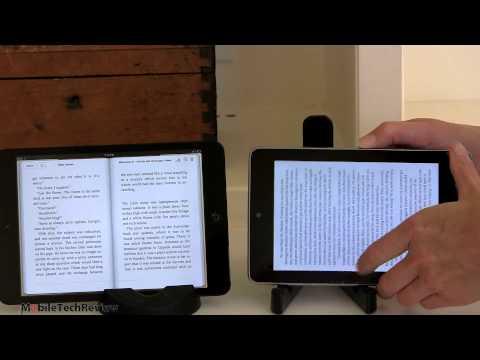 İpad Mini Vs Nexus 7 Karşılaştırma Smackdown
