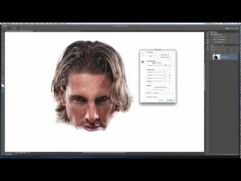 Kesme Dışarı İçin Photoshop Tekniği / Güzel Photoshop Kenarı İncelt Kullanarak Saç Seçme