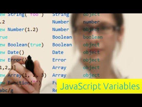 Değişkenleri - Javascript Eğitimi Yeni Başlayanlar İçin