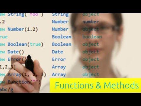 İşlevleri Ve Yöntemleri - Javascript Eğitimi Yeni Başlayanlar İçin