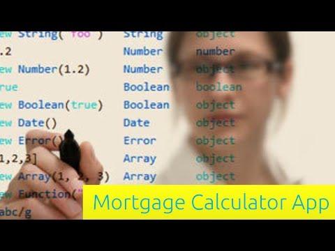 Mortgage Hesap Makinesi App - Javascript Eğitimi Yeni Başlayanlar İçin