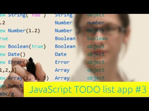 Yapılacaklar Listesi App - Javascript Eğitimi İçin Yeni Başlayanlar (3)