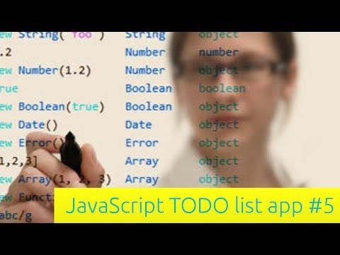 Yapılacaklar Listesi App - Javascript Eğitimi İçin Yeni Başlayanlar (5)