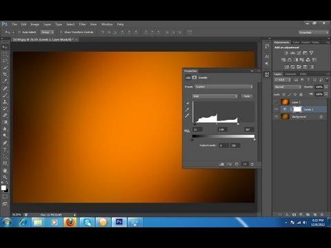 En İyi Gradient Etkisi Photoshop Resim Kullanma