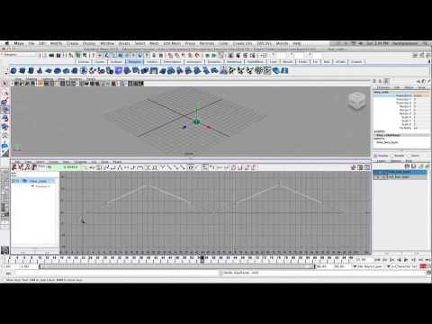 Maya - Animasyon Mekaniğinin Egzersiz 2