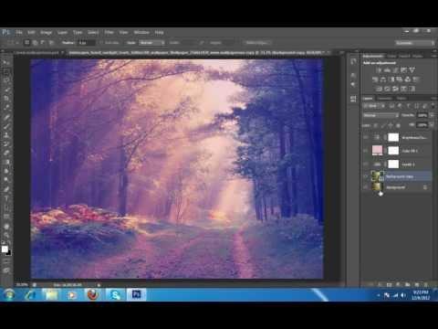 Çapraz İşleme Etkisi Photoshop Cs6 Part1