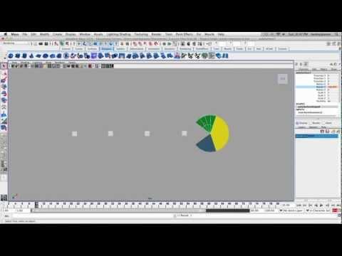 Maya - Animasyon Mekaniğinin Egzersiz 3