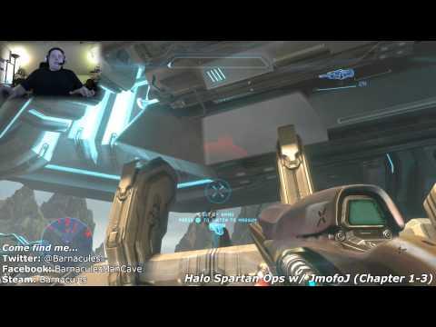 Halo 4 Spartalı Ops Bölüm 1-3 İle Jmofoj Xbox Live Xım Edge İle