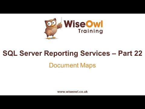 Reporting Services (Ssrs) Bölüm 22 - Belge Haritaları
