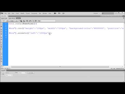 Jquery Öğretici: Css Ve Animasyon İşlevleri Kullanarak Jquery - Hd-