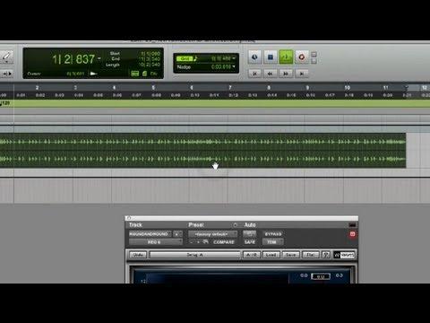 Nasıl Eq Davul Kayıtta Ana: Kayıt Ve Karıştırma Müzik