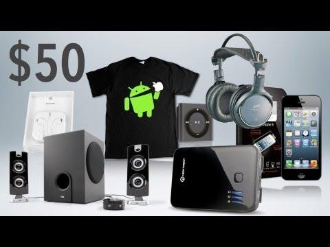 Teknoloji Ve Geek Hediyeler Altında 50 $ En İyi! (2012 Tatil Hediye Kılavuzu)
