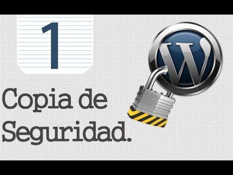 Seguridad Tr Wordpress - 1 - Copia De Seguridad.