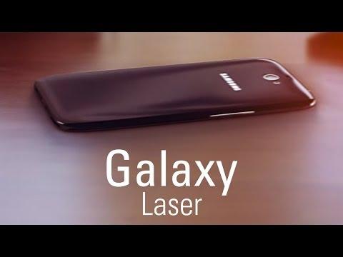 Galaxy İle Lazer Klavye (Kavram)