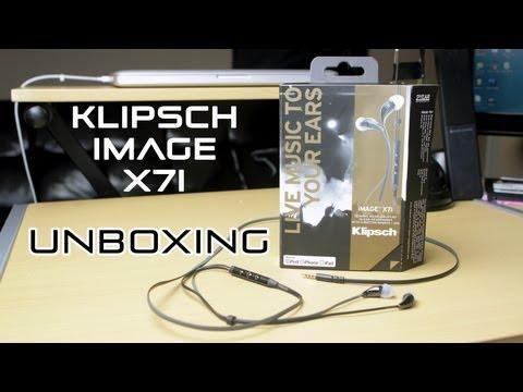 Unboxing Klipsch İmge X7I Kulak İçi Kulaklıklar